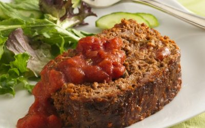 Nutrition At Home – Salsa Meat Loaf Recipe