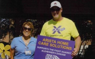 Clayton Birney Bestowed Volunteer Award by Michigan Alzheimer's Association