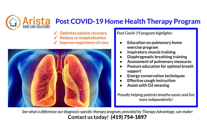 post covid-19 therapy flyer